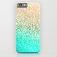 iPhone & iPod Case featuring GOLD AQUA by Monika Strigel