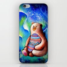 Spirit Bear Tribal Print iPhone & iPod Skin