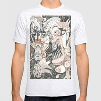 Chocced A Muffle Mens Fitted Tee Ash Grey SMALL