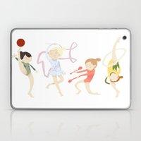 Rhythmic Gymnasts Laptop & iPad Skin