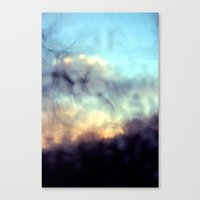 Early Winter Morning Canvas Print