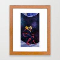 Far Above Framed Art Print