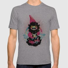 Whistling gnome Mens Fitted Tee Athletic Grey SMALL