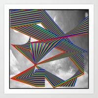 Highways of the Future Art Print