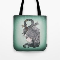 Swan Song art print Tote Bag
