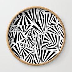 Ab Fan Spray Wall Clock