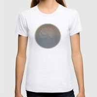 Shell Dish Womens Fitted Tee Ash Grey SMALL