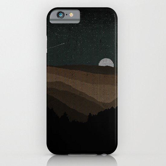 Moonrise (Sepia) iPhone & iPod Case