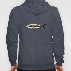 Carcharodon carcharias II ~ Great White Shark Hoody