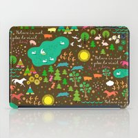 nature is home 1 iPad Case