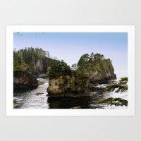 Tiny Islands Art Print