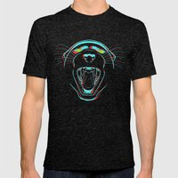 Black Panther Mens Fitted Tee Tri-Black SMALL