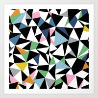 Abstraction Repeat #3 Art Print