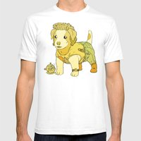 Kurt Russell Terrier - J… Mens Fitted Tee White SMALL