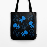 Aliens-Blue Tote Bag