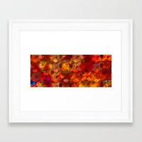 Scorched Earth. Framed Art Print