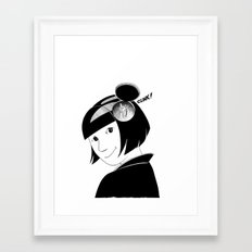 Clink! Framed Art Print