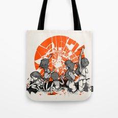 We'll help you rise again Tote Bag