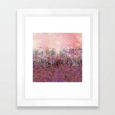 A Parade of Carnations & Roses Framed Art Print