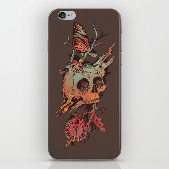 Mors et Natura iPhone & iPod Skin