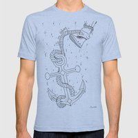 We are sinking Mens Fitted Tee Athletic Blue SMALL