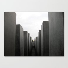 Holocaust Memorial, Berlin #1 Canvas Print
