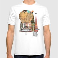 Adventure Days Mens Fitted Tee White SMALL