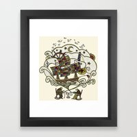My Father Was A Sailor, … Framed Art Print