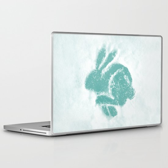 Snowbunny Laptop & iPad Skin