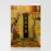 Taxi Driver Stationery Cards