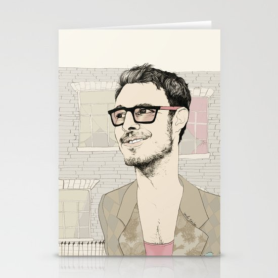 I´m hipster  Stationery Card