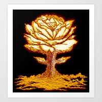 Atomic Bloom Art Print