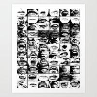 Oral Fixation 2 Art Print