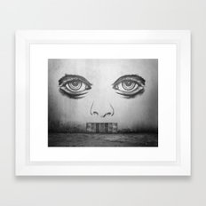 If this wall could talk Framed Art Print