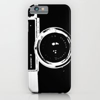 camera iPhone & iPod Cases featuring Camera by Maressa Andrioli
