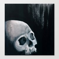 Bones XVI Canvas Print