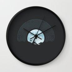 MOON TUNE Wall Clock