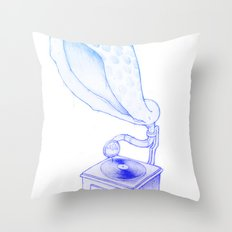 Sounds from Nature Throw Pillow