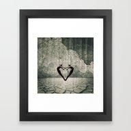 Framed Art Print featuring Raindance by Threadzone