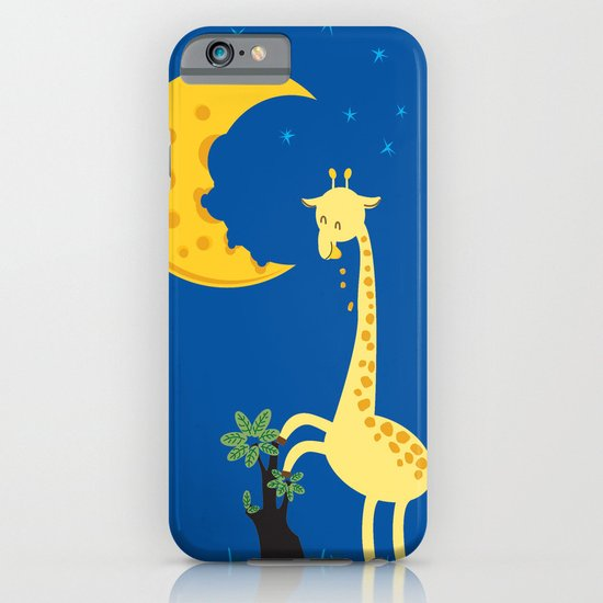 The Delicious Moon Cheese iPhone & iPod Case