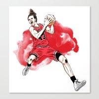 Joakim Noah  Canvas Print