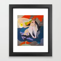 APATHY  Framed Art Print
