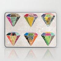 Diamonds Collage Laptop & iPad Skin