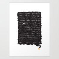 Ligthning Strike   Rath Art Print