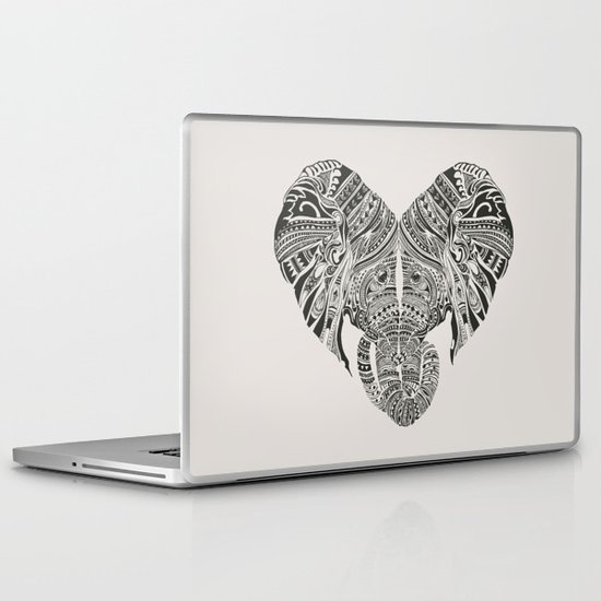 Huge Heart Laptop & iPad Skin