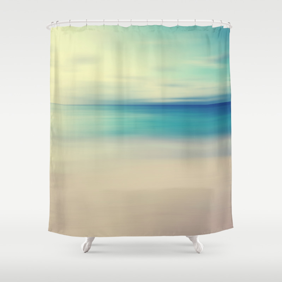 popular abstract shower curtains society6. Black Bedroom Furniture Sets. Home Design Ideas