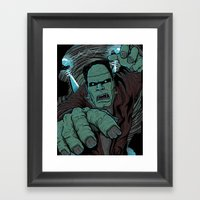It's Alive Framed Art Print