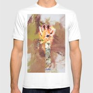 WILD LIFE Mens Fitted Tee White SMALL