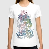 Creature Womens Fitted Tee White SMALL