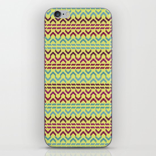 AZTEC Pattern 1-2 iPhone & iPod Skin